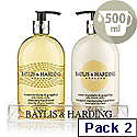 Baylis & Harding Mandarin Grapefruit Tray Hand Wash and Hand Lotion Cream VBHBM2BTLMG