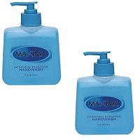 Maxima Antibacterial Hand Wash Liquid Soap 250ml (Pack of 2) KCWMAS/2
