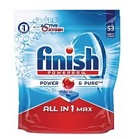 Finish All In 1 Turbo Dishwasher Tablets Value Pack of 53 Tablets RB787212