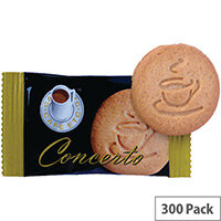 Cafe Etc Concerto Individually Wrapped Plain Biscuits Pack 300 ETC044