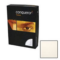 Conqueror Smooth Woven Texture Cream Premium Paper A4 100gsm 500 Sheets