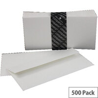 Conqueror Laid DL Wallet Envelopes High White 120gsm Pack of 500