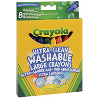 Crayola Ultra Clean Large Crayons Pack of 48 52-3282-E-000