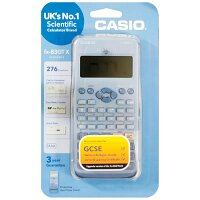 Casio FX-83GTX - Scientific Calculator - Schools & Exams Approved - 276 Advanced Functions, Solar and Battery Powered, Protective Slide-on, Large Textbook Display - Blue