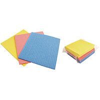 Cellulose Sponges Assorted Pack of 18 CLOTH.01/18