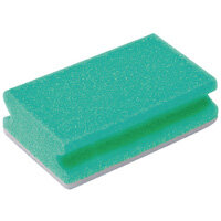 Finger Grip Scourers Green 130x70x40mm Pack of 10 SPCAGN60I
