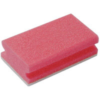 Finger Grip Scourers Red 130x70x40mm Pack of 10 SPCARE60I