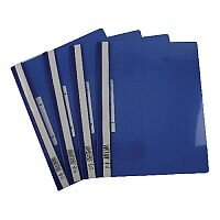 Durable Blue Clear View Folder A4 Pack of 25