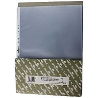 Durable Table Top Presenter Pockets A3 Landscape Pack of 10