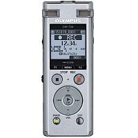 Olympus DM-720 PCM Digital Voice Recorder 4GB, MP3, Micro SD Slot, DNS, 3-Way Microphone