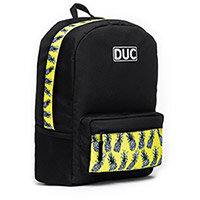 DUC Backpack Pineapple Medium School Bag Black 20L