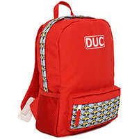 DUC Jr Car Kids Small School Bag Red 11L
