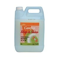 CareFree Mop and Shine Floor Polish 5 Litre 2 Pack 419110