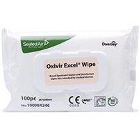 Diversey Oxivir Excel 100 Wipes Pack of 12 100984246