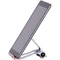 Tablet Cradle in White and Red