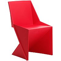 Freedom Boardroom & Visitor Stacking Chair Red Polypropylene