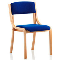 Madrid Boardroom & Visitor Chair Blue Without Arms
