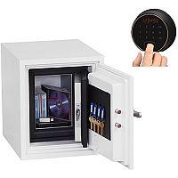 Phoenix Datacare DS2001F Size 1 Data Safe with Fingerprint Lock White 7L 60min Fire Protection