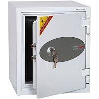 Phoenix Datacare DS2001K Size 1 Data Safe with Key Lock White 7L 60min Fire Protection