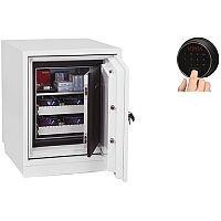 Phoenix Datacare DS2003F Size 3 Data Safe with Fingerprint Lock White 80L 120min Fire Protection