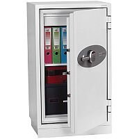 Phoenix Datacombi DS2503E Size 3 Data Safe with Electronic Lock White 145L 120min Fire Protection
