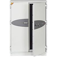 Phoenix Data Commander DS4623K Size 3 Data Safe with Key Lock White 457L 120min Fire Protection
