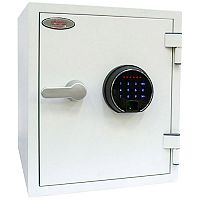 Phoenix Titan FS1282F Size 2 Fire & Security Safe with Fingerprint Lock White 25L 60mins Fire Protection