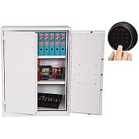 Phoenix Fire Ranger FS1512F Size 2 Fire Safe with Fingerprint Lock White 359L 30min Fire Protection