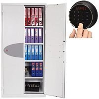 Phoenix Fire Ranger FS1513F Size 3 Fire Safe with Fingerprint Lock White 615L 30min Fire Protection