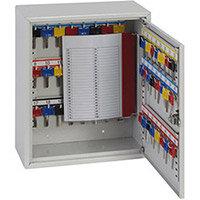 Phoenix Keysure KC0301M 50 Hook Deep Key Cabinet with Mechanical Combination Lock Light Grey
