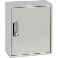 Phoenix Keysure KC0501M 24 Hook Deep Plus Key Cabinet with Mechanical Combination Lock Light Grey