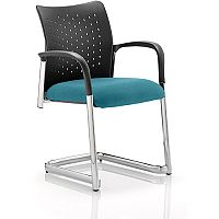 Academy Boardroom & Visitor Chair Cantilever Kingfisher Green