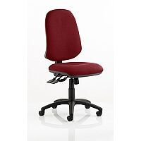 Eclipse XL III Lever Task Operator Office Chair Chilli Red