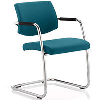 Havanna Boardroom & Visitor Chair Kingfisher Green