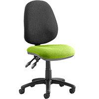 Luna II Lever Task Operator Office Chair Myrrh Green Seat