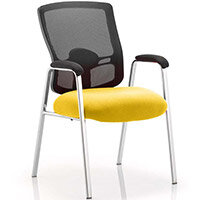 Portland Boardroom & Visitor Chair Sunset Yellow