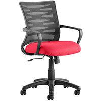 Vortex Task Operator Office Chair Cherry Red