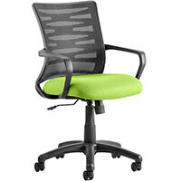 Vortex Task Operator Office Chair Swizzle Green