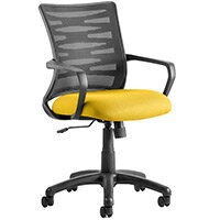 Vortex Task Operator Office Chair Sunset Yellow