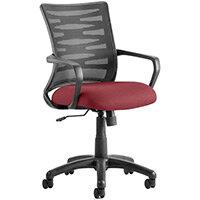 Vortex Task Operator Office Chair Chilli Red