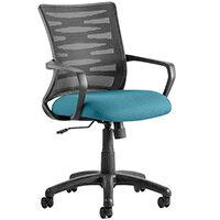 Vortex Task Operator Office Chair Kingfisher Green