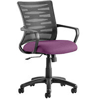 Vortex Task Operator Office Chair Purple