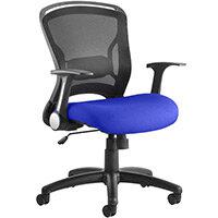 Zeus Task Operator Office Chair Serene Blue