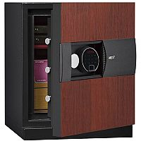 Phoenix Next LS7001FC Luxury Safe Size 1 Cherry with Fingerprint Lock Cherry 47L 60min Fire Protection