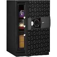 Phoenix Next LS7002FB Luxury Safe Size 2 Black with Fingerprint Lock Black 72L 60min Fire Protection