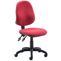 Eclipse II lever Task Operator Office Chair Wine
