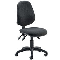 Eclipse III Lever Task Operator Office Chair Charcoal