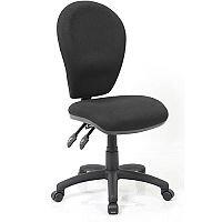 Solar II Black Task Operator Office Chair