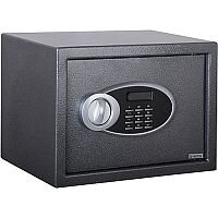 Phoenix Rhea SS0102E Size 2 Security Safe with Electronic Lock Metalic Graphite 17L