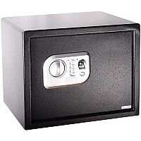 Phoenix Neso SS0202F Size 2 Security Safe with Fingerprint Lock Black 26L